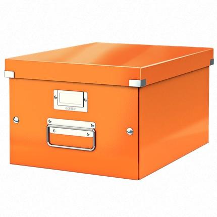 boite de rangement wow a4 210 x 297 mm orange leitz 6044 00 44 ventes pro. Black Bedroom Furniture Sets. Home Design Ideas